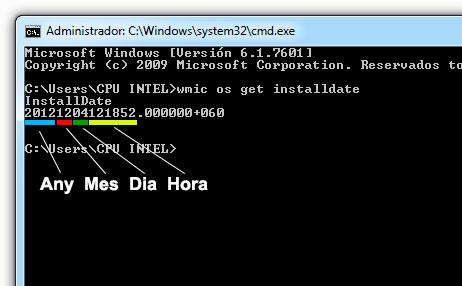"""""""Com saber la data d'instal·lació del Windows"""""""